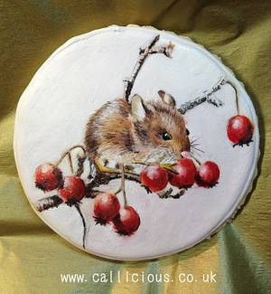 Cookie Harvest Mouse - Cake by Calli Creations