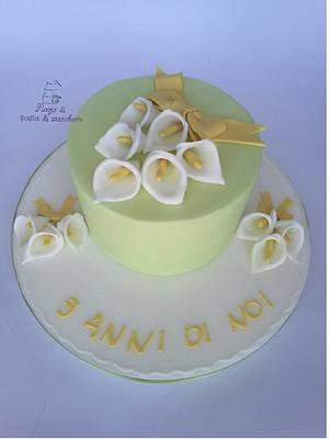 Torta con calle - Cake by Mariana Frascella