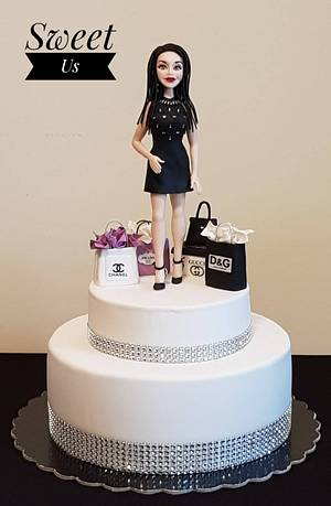 Marcela - CPC International Women's Day Collaboration - Cake by Gabriela Doroghy