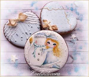 Winter cookies - Cake by Evelindecora
