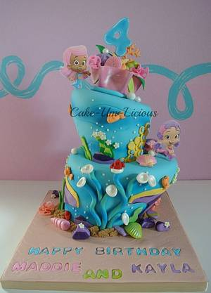 Bubble Guppies Cake - Cake by Andrea Diaz
