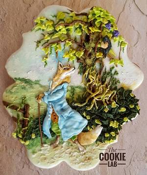 Fables de La Fontaine  - Everyone's Story Matters - Cake by The Cookie Lab  by Marta Torres