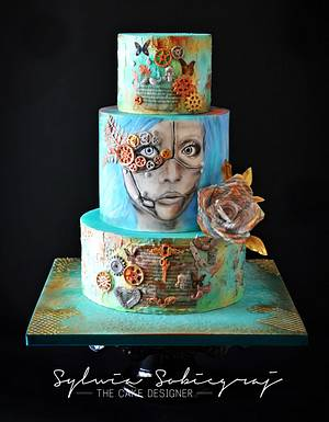 Steam Cakes - A Steampunk Collaboration - Cake by Sylwia Sobiegraj The Cake Designer