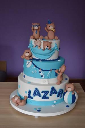 Sweet little bear - Cake by Zaklina