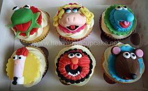Muppets Cupcakes - Cake by heavenisacupcake