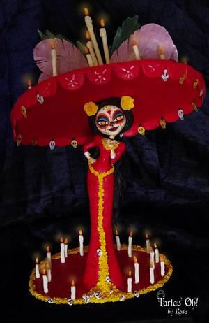 Sugar Skulls Bakers La Catrina (Book of Life) - Cake by Rosa Guerra (Tartas Oh by Rosa)