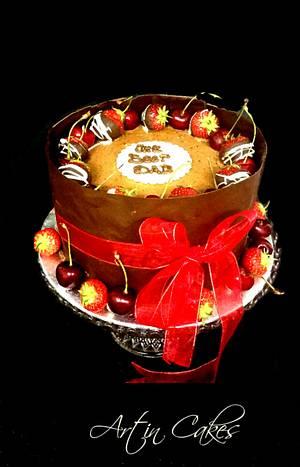 Rich Chocolate Wrap  - Cake by Shree