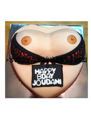 Boobie Cake - Cake by BlueFairyConfections