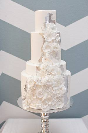 Winter Whites - Cake by Stevi Auble