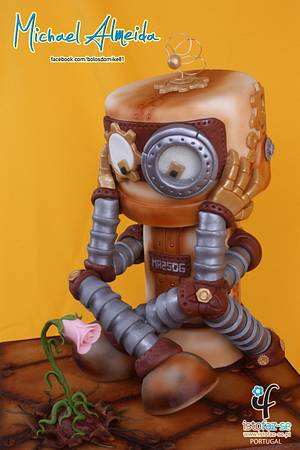 The Robot - Cake by Michael Almeida