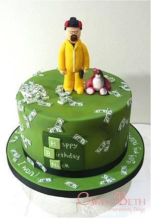 Breaking Bad - Cake by Beth Mottershead
