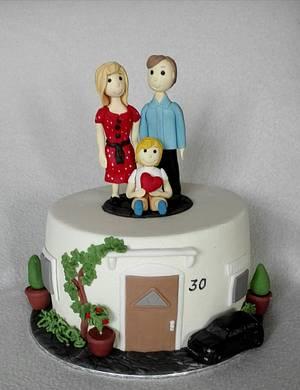 Family - Cake by Anka