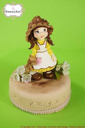 Sara Kay - Cake by Ylenia Ionta - SweetArt Cake Design
