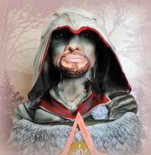 Ezio - Assassins Creed - Cake by The Cornish Cakery