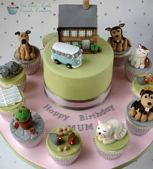 Mixed Interest Birthday Cake - Cake by Amanda's Little Cake Boutique
