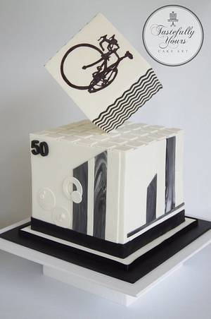 Ride for life - Cake by Marianne: Tastefully Yours Cake Art