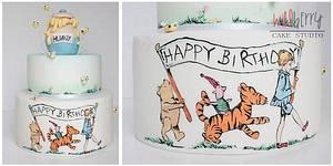 Winnie the pooh & friends - Cake by Wildberry Cake Studio
