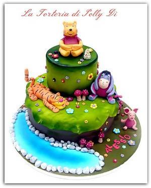 il magico mondo di Winne Pooh !!! - Cake by La Torteria di Polly Dì