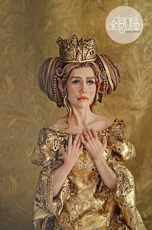 """Midas Queen"" for Sweet Fairytales - Cake by Daniel Diéguez"