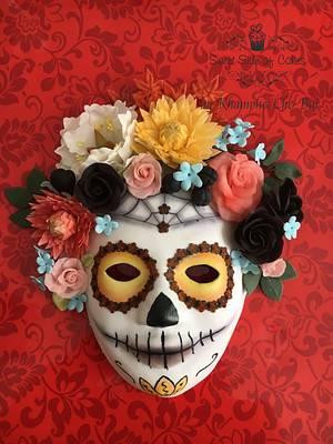 Mask of Catrina @Sugar Skull Bakers 2017 - Cake by Sweet Side of Cakes by Khamphet