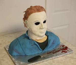 Michael Myers - Cake by Kitti Lightfoot