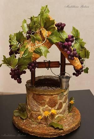 """3D cake """"Well"""" - Cake by Galina Maslikhina"""