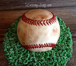 Dirty baseball cake - Cake by Enticing Icing