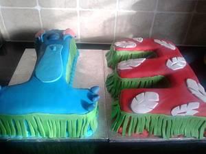 Disney Lilo and Stitch - Cake by Disneyworld25