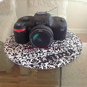 Nokia Camera Birthday Cake - Cake by Carsedra Glass
