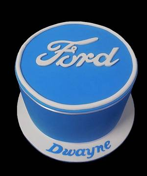Ford Logo  - Cake by Unusual cakes for you