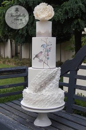 Summer love story - Cake by Marianne: Tastefully Yours Cake Art