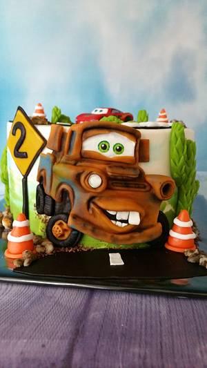 Cars 3  - Cake by Claudia Kapers Capri Cakes