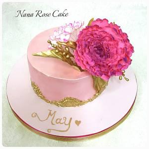 Just Pink  - Cake by Nana Rose Cake
