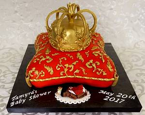 Royal Prince Pillow Cake - Cake by Custom Cakes by Ann Marie