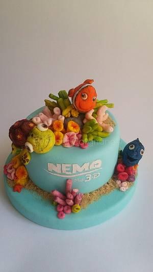 Marshmallow Cake - Nemo - Cake by Eleonora Calignano