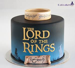Lord of the Rings cake - Cake by Catcakes
