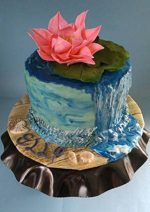 """Elly's Birthday Cake - Cake by June (""""Clarky's Cakes"""")"""