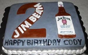 Jim Beam Cake - Cake by Carrie Freeman