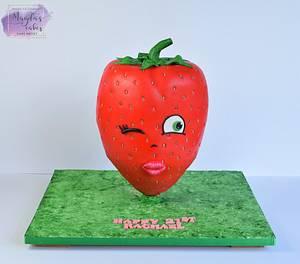 Giant strawberry :)  - Cake by Magda's Cakes (Magda Pietkiewicz)