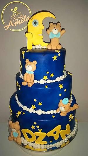 night stars cake - Cake by Torte Amela