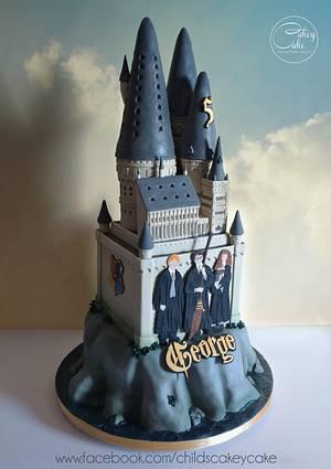 Hogwarts - Cake by CakeyCake