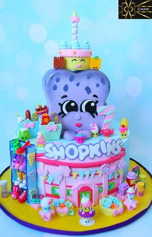 Shopkins Cake  - Cake by Cake! By Jennifer Riley