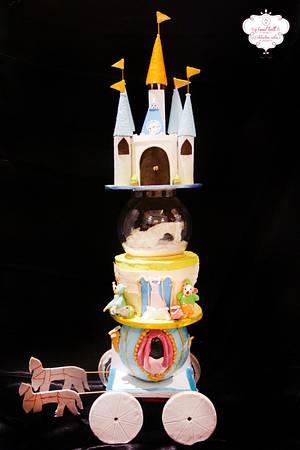 PDCA Caker Buddies storybook collaboration-Cinderella. - Cake by Kruti