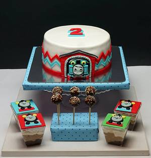 Thomas the train - Cake by Dragana