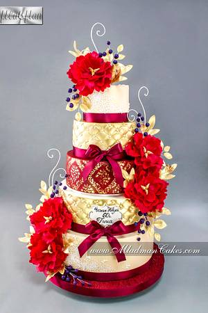 Red Rapsody Cake - Cake by MLADMAN