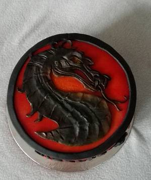 Mortal Combat - Cake by Anka