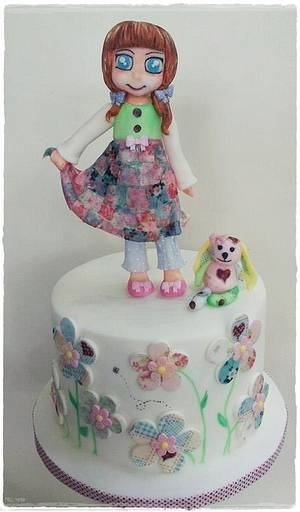 Abby and Patch  - Cake by Time for Tiffin