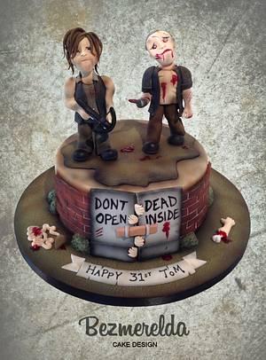Walking Dead Cake - Cake by Bezmerelda