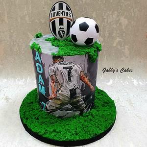 Juventus birthday cake - Cake by Gabby's cakes