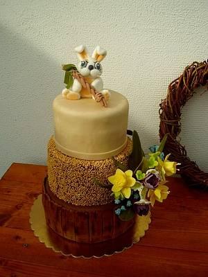 Easter and birthdays cake  - Cake by Stániny dorty